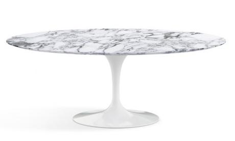 Tavolo tulip saarinen prezzo dimensioni e materiali - Tavolo tulip ovale marmo ...